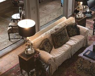Custom Sofa by EJ Victor
