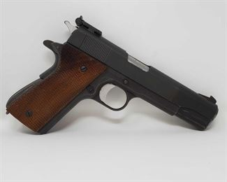"215 Essex 1911 .45 Semi-Auto Pistol Serial Number- 35209 Barrel Length- 5"""