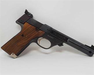 "210 High Standard Supermatic Citation .22 LR Semi-Auto Pistol Serial Number- 2482429 Barrel Length- 5.5"""