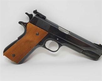 "205 Colt 1911A1 U.S. Army .45 Semi-Auto Pistol Serial Number- 623896 Barrel Length- 5"""