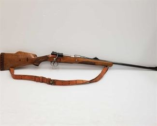 """305 Mauser Sporter .270 Win Bolt Action Rifle Serial Number: WRG1040. Barrel Length: 24"""" California Transfer Available. Ca and out of state shipping available to your local FFL. Buyer is responsible for checking local laws before bidding."""