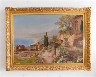 Arnegger oil painting