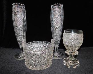 Brilliant period cut glass