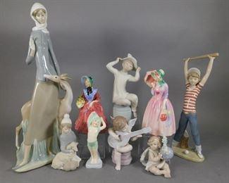 Lladro Royal Doulton figures