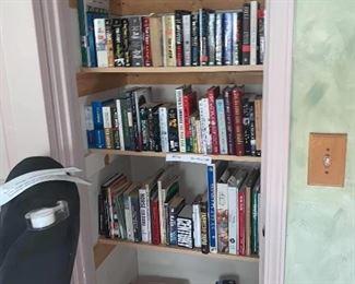 Books $1 each Dvds $2 each Bulbs $1 each