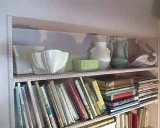 Pottery and Books