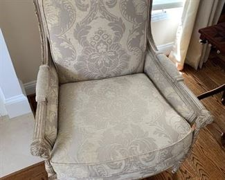 GORGEOUS COUNCILL ARM CHAIR WITH DONGHIA FABRIC $425