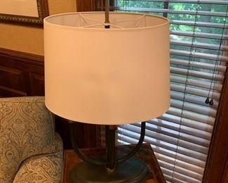 DECORATIVE TABLE LAMP $200