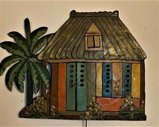 Jamaican oil drum art