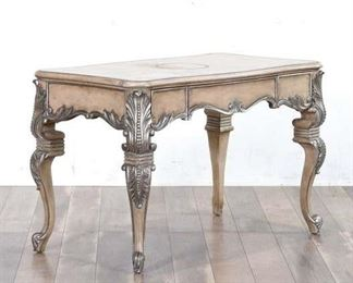 Carved Gilt French Provincial Writing Desk