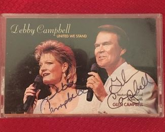 Glenn and Debbie Campbell Autograph