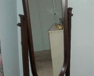 Very nice vintage  cheval mirror