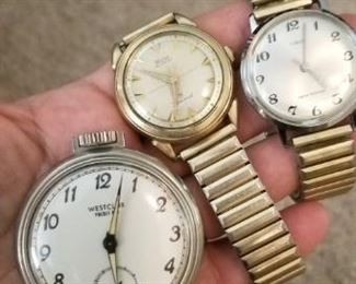 Vintage men's watches