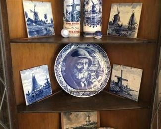 Various Delft Items and More