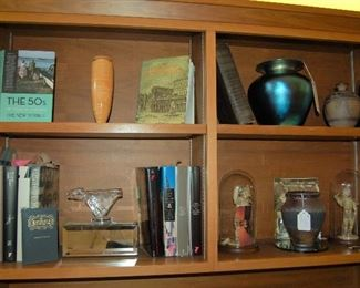 Art glass and books