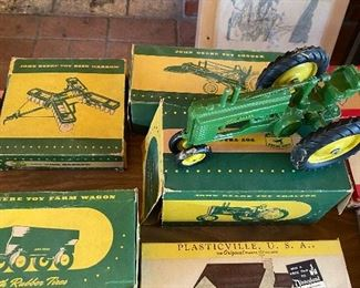 None Deere dis cast collectibles