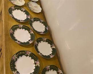 12 Porcelain Plates