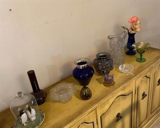 Glass Blown, Pressed, Art and More
