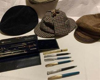 Pencils, Hats, Tools