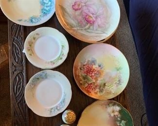 Porcelain Double Handle Large Plate and More