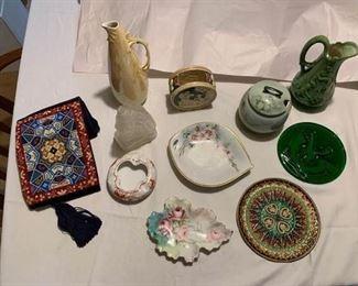Porcelain, Glass, Enamel