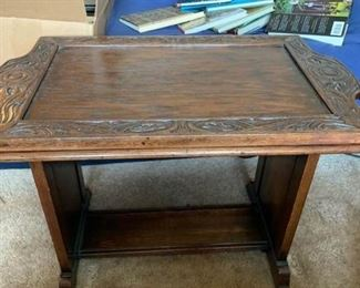 Wood Butler Table