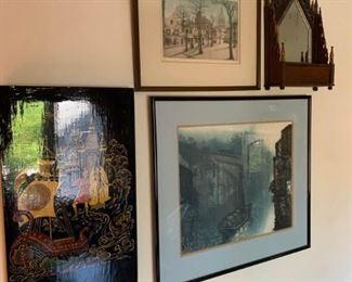 Wood, Prints, Painted Wood