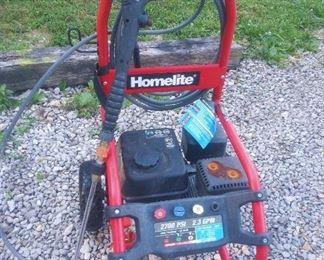 Homelite Pressure Washer.