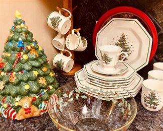 Spode, Christmastime & Nikko