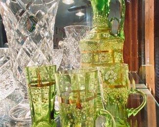 Moser Glass Set