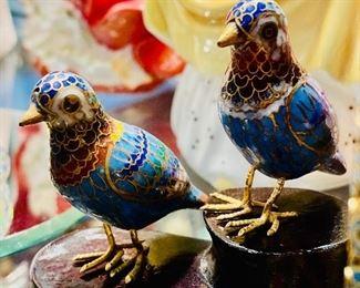 Enameled Birds