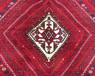Vintage Handmade Turkish Wool Rug
