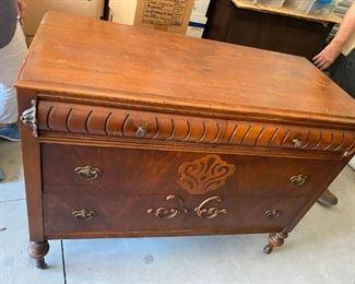 $195: Mahogany Dresser with Mirror