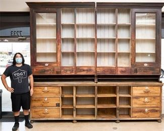 Colossal Rustic Cabinet