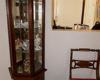 Lighted Petite Display cabinet