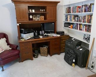 Home Office Misc., Luggage, Books and more