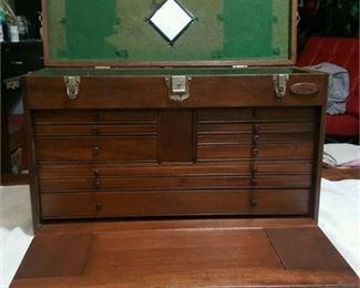 Lot 32 Gerstner Mahogany Chest m52 from FORD Plant 1950's