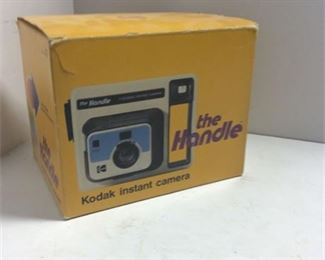 Lot 59 NOS Vintage Kodak 'The Handle' Camera in box