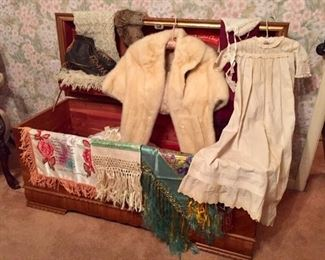 Furs Antique Linens