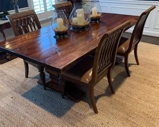 VINTAGE RALPH LAUREN FARMHOUSE STYLE DINING TABLE $950.00