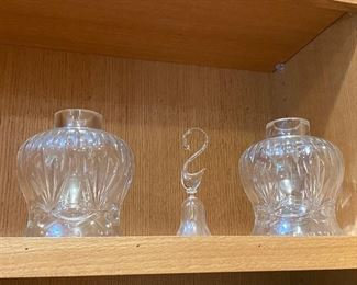 Crystal oil lamps