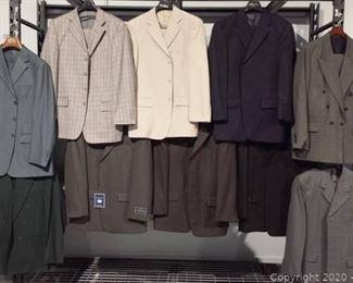 10 Designer Brands Mens Suits Lot A