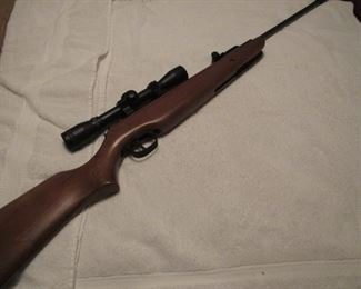 Ruger Airhawk Air Rifle with Scope. GUNS WILL NOT BE DISCOUNTED