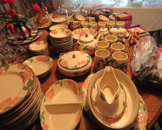 Franciscan Desert Rose dishes- Over 100 pieces