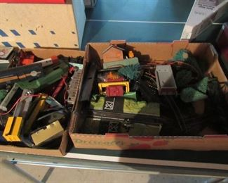 Trains and accessories- selling as one lot
