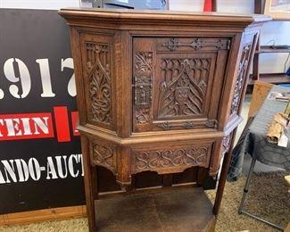 Wood Carved Cabinet