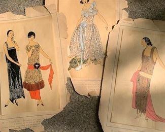french fashion prints