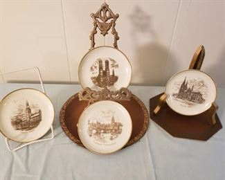 Vintage Rosenthal Scenic German Collectible Plates