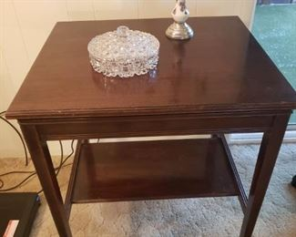 Antique Rotating TV Stand