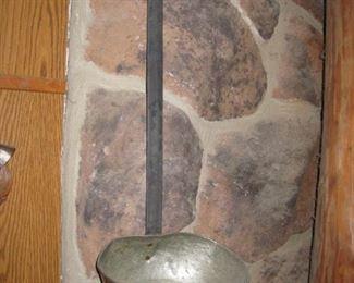 """$8.00, 25"""" Large Copper Ladle"""